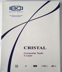 دندان مصنوعی کریستال(هشت تایی تکی)
