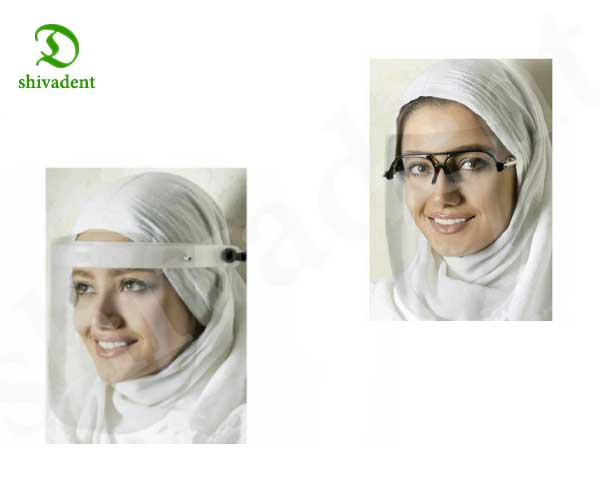 شیلد و عینک دندانپزشکی