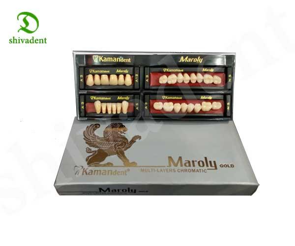 دندان مارولی gold